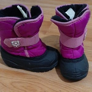 Toddler girl snow boots